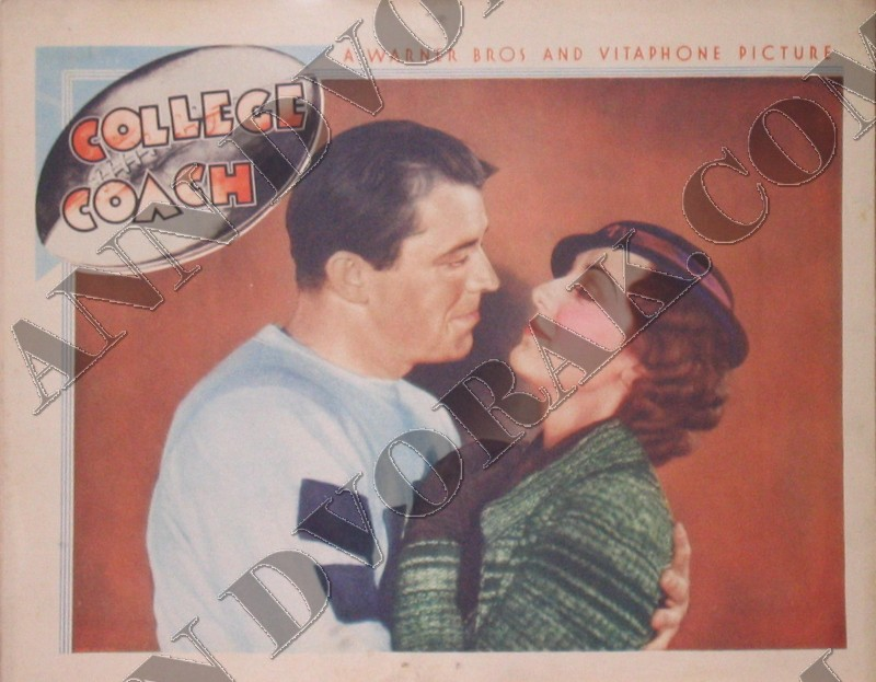 College Coach Lobby Card
